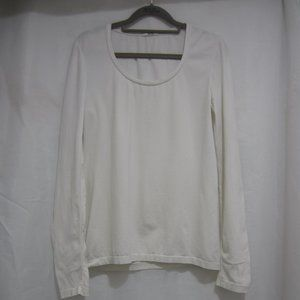 """Wolford L Cotton Stretch Spring Shirt 36"""" Bust"""